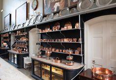 Holkham Hall kitchen