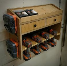 133 Best Tool Charging Stations Images Organizers Tool Storage