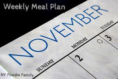 Check out our weekly meal plan for some meal planning inspiration!