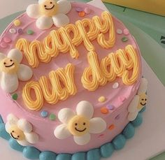 Pretty Birthday Cakes, Pretty Cakes, Beautiful Cakes, Amazing Cakes, Mini Cakes, Cupcake Cakes, Cute Desserts, Just Cakes, Sweet Cakes