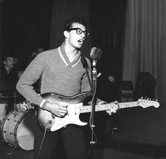 images of buddy holly | El Rock'n'Roll murió cuando murió Buddy Holly .....