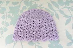 Alli Crafts: Free Pattern: Tulip Stitch Hat - Newborn