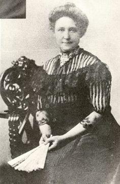 Kate Adams Keller - Mother of Helen Keller (Illustration) American History Biographies Tragedies and Triumphs