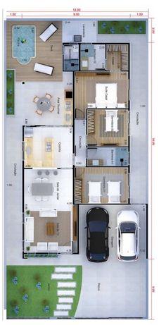 Open Floor House Plans, Sims House Plans, House Layout Plans, Family House Plans, New House Plans, Dream House Plans, House Layouts, Home Building Design, Home Design Plans