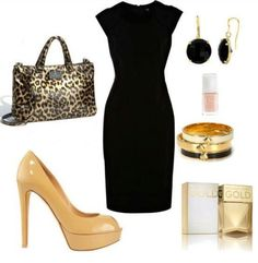 Classy Outfit. Little black dress!