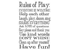Rules of Play by WildEyesSigns on Etsy, $40.00