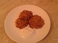 Zdravé zemiakové placky (fotorecept) - recept | Varecha.sk Ale, Almond, Grains, Chicken, Food, Basket, Recipes, Ale Beer, Essen