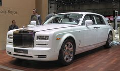 """2015 Geneva Motor Show Highlights... Rolls-Royce Phantom """"Serenity""""      A Rolls-Royce Phantom is already an exclusive vehicle, but there is an entire team at the automaker chartered to create personalized bespoke Rolls-Royces. Their latest creation is the Rolls-Royce Serenity. While the exterior is understated, the effort creating this look is impressive. Its Mother of Pearl paint is the most expensive one-off paint ever developed by Rolls-Royce — the color achieved in a three-stage pearl…"""