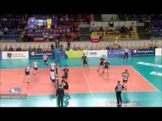 ▶ Top 10 Volleyball Spikes Champions League - YouTube