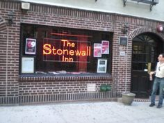 The Stonewall Inn is where the modern day gay rights movement was born.  Ryan and I were legally married there on November 5, 2011.