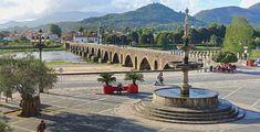 Ponte Romana e Igreja de Santo António  Pont romain, Ponte de Lima (Minho) Portugal