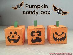 Halloween è in arrivo e abbiamo preparato una mini sopresa per voi: una piccola scatola di cartone a 'forma' di zucca, che potrete usare per mettere caramelle, come segnaposto o anche solo come sem...