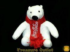 Summit Group Coca Cola Mini Stuffed Plush Polar Bear 5in