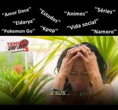 Eu na vida Hahaha Créditos à página Tirinhas Amor Doce   (My life is summarized in a photo)