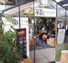 Koffie en hout. Een smaakvolle combinatie. Hier op de #Venuez beurs in Antwerpen.