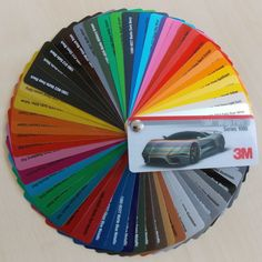 3M Wrap Film Serie 1080 Farbfächer Autofolie