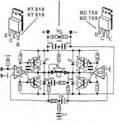 200-watt-audio-amplifier-circuit-diagram