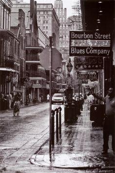 Calle Bourbon, Nueva Orleans.