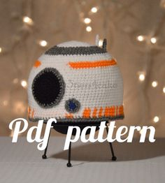 Etsy -BB8 Hat Crochet Pattern by 3tiers4cake on Etsy