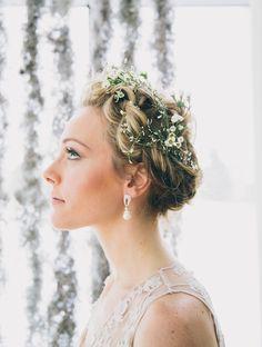#hairstyles  Photography: Jamie Davis At Greenhouse Loft - greenhouseloftphoto.com/  Read More: http://www.stylemepretty.com/little-black-book-blog/2014/06/02/bohemian-bayou-wedding-inspiration/