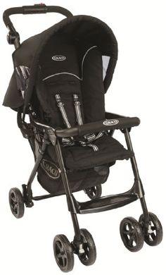 Graco CitiSport Lite Pushchair, Sport Luxe - Black