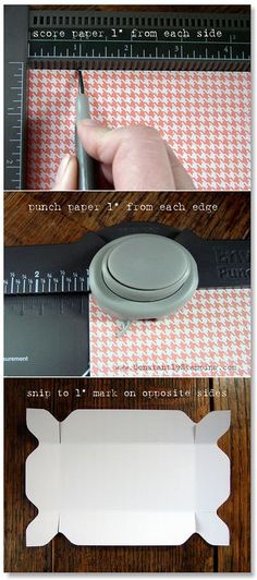 fancy box lid tutorial plus directions for the bottom of the box ~ turns out quite pretty