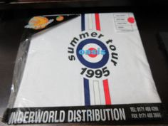 Oasis-1995-Summer-Tour-T-Shirt-Having-MOD-Target-Design-Beady-Eye-Noel-Gallagher