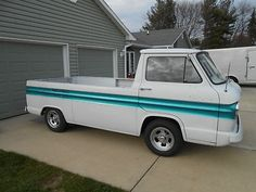 1961 Chevy Corvair Truck - so need this to pull the butterbean