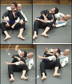 2 different BJJ chokes