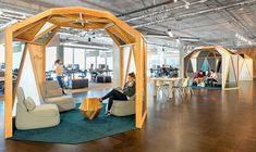 Creative Workspace Environment designed by O+A - office design, office space, Office Interior Design, Office Interiors, Interior Design Inspiration, Design Offices, Office Designs, Fun Office Design, Commercial Design, Commercial Interiors, Office Workspace