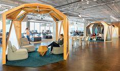 Zonas relax y/o trabajo. Oficinas Cisco California