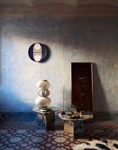 colorful home decor Furniture Styles, Home Decor Furniture, Retro Furniture, Arne Jacobsen, Vintage Tile Floor, Interior Architecture, Interior And Exterior, Mexican Interior Design, Deco Boheme