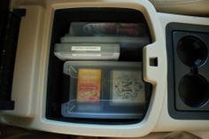 Car Console Organization at www.kelleymorrison.com