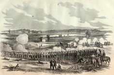 On October 8, 1862, Irish-born Confederate General Patrick Cleburne commanded a brigade at the battle of Perryville, Kentucky.