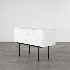15° two door buffet black and white   furniture . Möbel . meuble   Design: Erica Ferrari   Nuun  