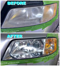Headlight Lens Restoration System Bundle with Microfiber Cloth Items) Polish Headlights, Cloudy Headlights, Cleaning Headlights On Car, How To Clean Headlights, Car Headlights, Headlight Cleaner, Headlight Lens, Car Paint Repair, Car Repair