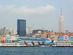 Chelsea Pier NYC. Originally built for the arrival of the Titanic.
