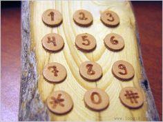 Russian Wooden Cellphone - Amazing Data