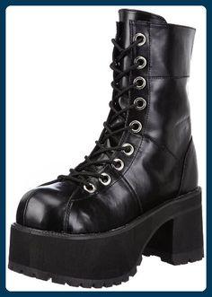 SHAKER 52 Gothic Punk Rock Demonia USA Boots Stiefel