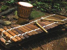 World Instruments! Traditional African instrument - Balafon. ♫ CLICK through to read more or save for later! ♫