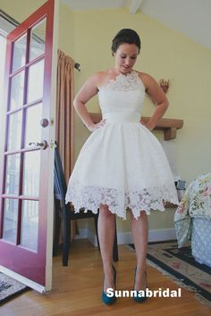 Affordable Tea Length Wedding Dresses | Wedding Gowns Couture ...