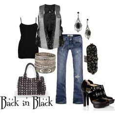 Back in Black, created by elymock9