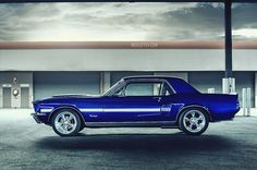 Ford Mustang Coupe 67