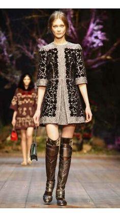 Dolce & Gabbana - Outono-inverno 2014/15 - Vogue Portugal