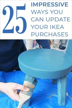 25 Impressive ways you can update your Ikea purchases! I really like some of these ideas for easy customizing of your Ikea finds. Furniture Makeover, Diy Furniture, Unique Furniture, Decorating Your Home, Diy Home Decor, Decorating Hacks, Diy Craft Projects, Diy Crafts, Cleaners Homemade