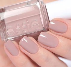 Essie Lady Like Nail Polish Color Lacquer Nude #essie
