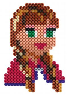 Princess Anna - Disney Frozen Gift Set Hama Beads 7957