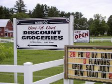 Salvage Stores - if you're a true bargain hunter these are yet another Amish Country Experience you'll not want to miss! Northeast Ohio and Holmes County area. Amish Country Ohio, Discount Grocery, Holmes County, Craft Shop, Vacation Spots, Household Items, Online Business, Places To Go, Building