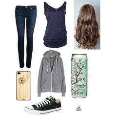 """Walking around town w/ Jc Caylen"" by bye-andrea on Polyvore"
