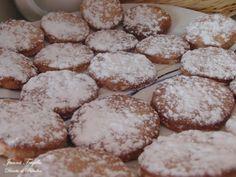 Receta de tostaditas de piñones. Recetas de Postres Baking Recipes, Cookie Recipes, Pasta Casera, Spanish Cuisine, Pan Dulce, Coconut Cookies, Sin Gluten, Stevia, Pecan